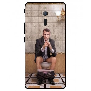 Coque De Protection Emmanuel Macron Aux Toilettes Pour ZTE Nubia Red Magic