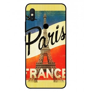 Coque De Protection Paris Vintage Pour Xiaomi Redmi S2