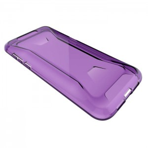 Coque De Protection En Silicone Violet Pour Xiaomi Black Shark