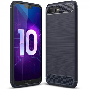 Coque De Protection En Carbone Pour Huawei Honor 10