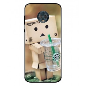 Coque De Protection Amazon Starbucks Pour Motorola Moto G6