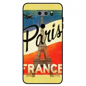 Coque De Protection Paris Vintage Pour LG V30S ThinQ