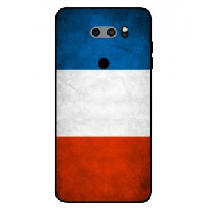 Coque De Protection Drapeau De La France Pour LG V30S ThinQ
