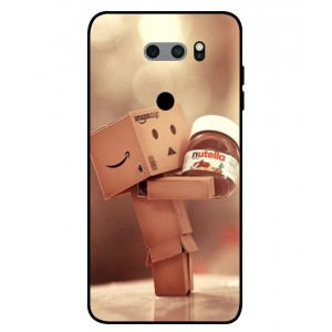 Coque De Protection Amazon Nutella Pour LG V30S ThinQ