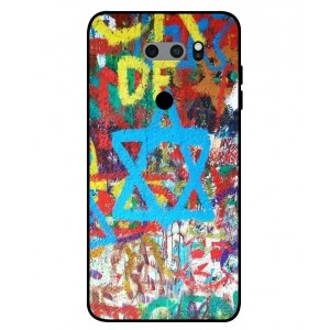 Coque De Protection Graffiti Tel-Aviv Pour LG V30S ThinQ