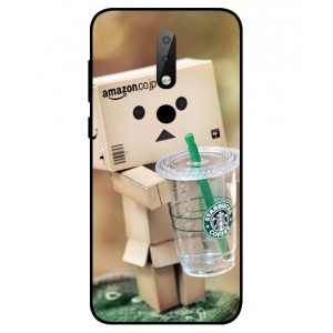 Coque De Protection Amazon Starbucks Pour Nokia X6