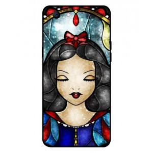 Coque De Protection Blanche Neige Pour Oppo A3