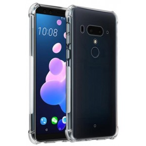 Coque De Protection En Silicone Transparent Pour HTC U12 Plus