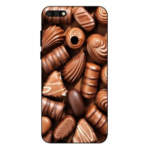 Coque De Protection Chocolat Pour Huawei Honor 7C