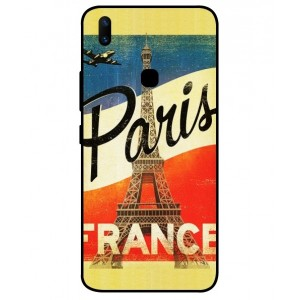 Coque De Protection Paris Vintage Pour Vivo Z1