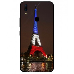 Coque De Protection Tour Eiffel Couleurs France Pour Vivo Z1