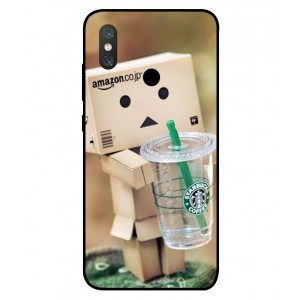 Coque De Protection Amazon Starbucks Pour Xiaomi Mi 8