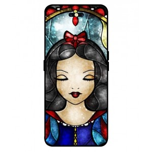 Coque De Protection Blanche Neige Pour Oppo Find X
