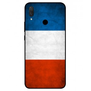 Coque De Protection Drapeau De La France Pour Huawei P Smart Plus