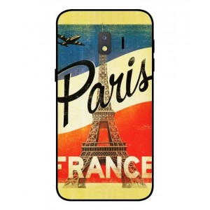 Coque De Protection Paris Vintage Pour Samsung Galaxy J2 Core