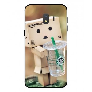 Coque De Protection Amazon Starbucks Pour Samsung Galaxy J2 Core