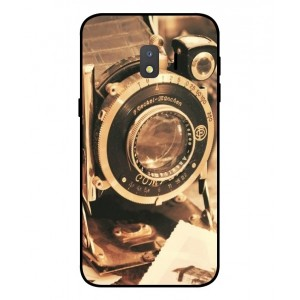 Coque De Protection Appareil Photo Vintage Pour Samsung Galaxy J2 Core