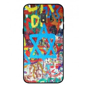 Coque De Protection Graffiti Tel-Aviv Pour Samsung Galaxy J2 Core