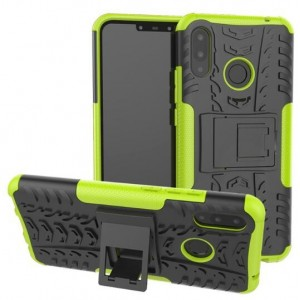Protection Antichoc Type Otterbox Vert Pour Huawei P Smart Plus
