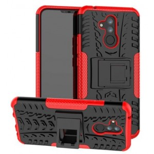 Protection Antichoc Type Otterbox Rouge Pour Huawei Mate 20 lite