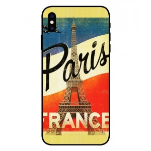 Coque De Protection Paris Vintage Pour iPhone XS