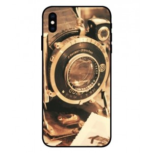 Coque De Protection Appareil Photo Vintage Pour iPhone XS