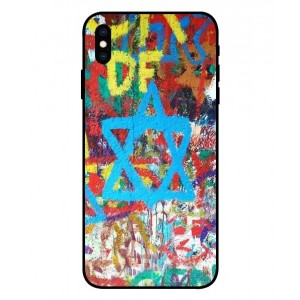Coque De Protection Graffiti Tel-Aviv Pour iPhone XS