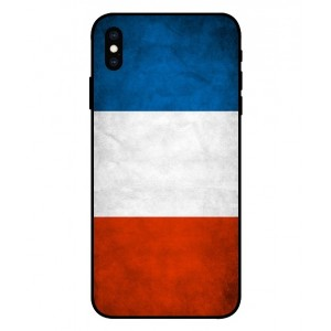 Coque De Protection Drapeau De La France Pour iPhone XS Max