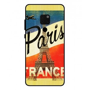 Coque De Protection Paris Vintage Pour Huawei Mate 20