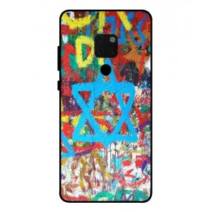 Coque De Protection Graffiti Tel-Aviv Pour Huawei Mate 20