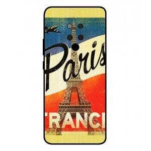 Coque De Protection Paris Vintage Pour Huawei Mate 20 X