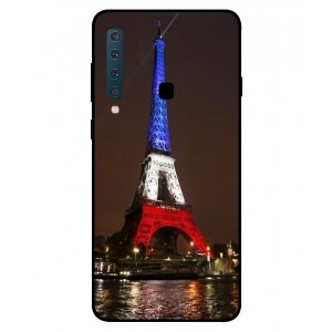 Coque De Protection Tour Eiffel Couleurs France Pour Samsung Galaxy A9 2018