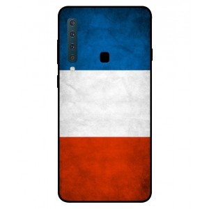 Coque De Protection Drapeau De La France Pour Samsung Galaxy A9 2018