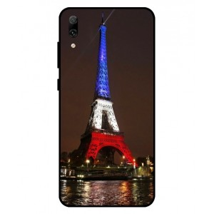 Coque De Protection Tour Eiffel Couleurs France Pour Huawei Enjoy 9