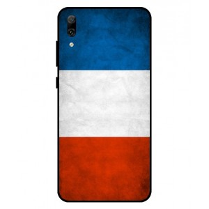 Coque De Protection Drapeau De La France Pour Huawei Enjoy 9