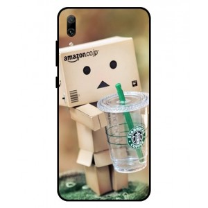 Coque De Protection Amazon Starbucks Pour Huawei Enjoy 9