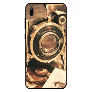 Coque De Protection Appareil Photo Vintage Pour Huawei Enjoy 9