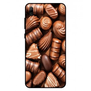 Coque De Protection Chocolat Pour Huawei Enjoy 9
