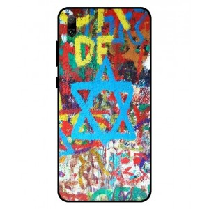Coque De Protection Graffiti Tel-Aviv Pour Huawei Enjoy 9
