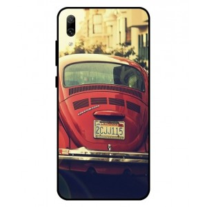 Coque De Protection Voiture Beetle Vintage Huawei Enjoy 9