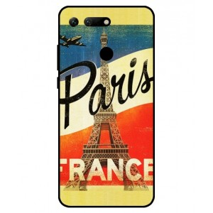 Coque De Protection Paris Vintage Pour Huawei Honor View 20