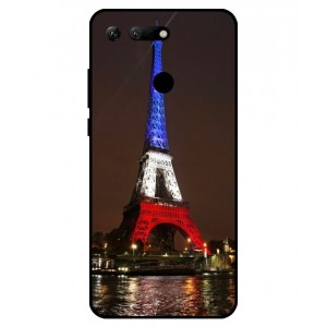 Coque De Protection Tour Eiffel Couleurs France Pour Huawei Honor View 20
