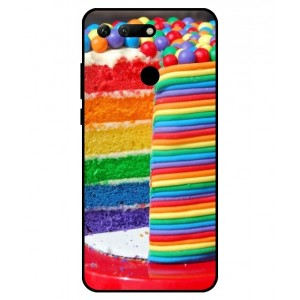 Coque De Protection Gâteau Multicolore Pour Huawei Honor View 20