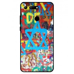 Coque De Protection Graffiti Tel-Aviv Pour Huawei Honor View 20