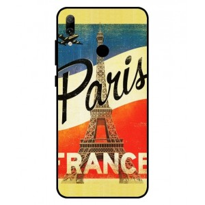Coque De Protection Paris Vintage Pour Huawei P Smart 2019