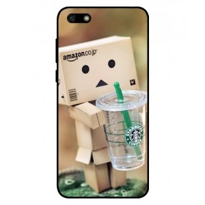 Coque De Protection Amazon Starbucks Pour Huawei Y5 Lite 2018