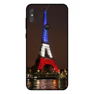 Coque De Protection Tour Eiffel Couleurs France Pour Motorola One