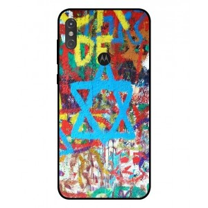 Coque De Protection Graffiti Tel-Aviv Pour Motorola One