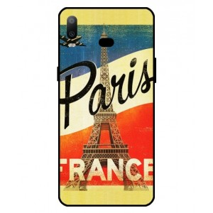 Coque De Protection Paris Vintage Pour Samsung Galaxy A6s