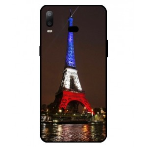 Coque De Protection Tour Eiffel Couleurs France Pour Samsung Galaxy A6s